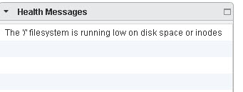 Solved] : vCenter Appliance root Partition 100% full , plus